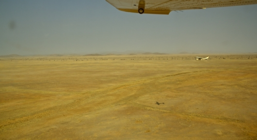 """Our aircraft in """"convoy"""""""