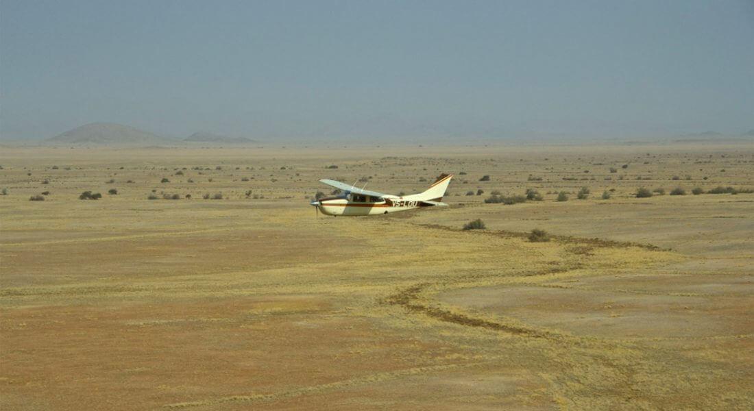 The Skeleton Coast flying safari