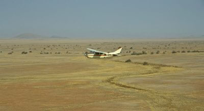 The Skeleton Coast flying safari