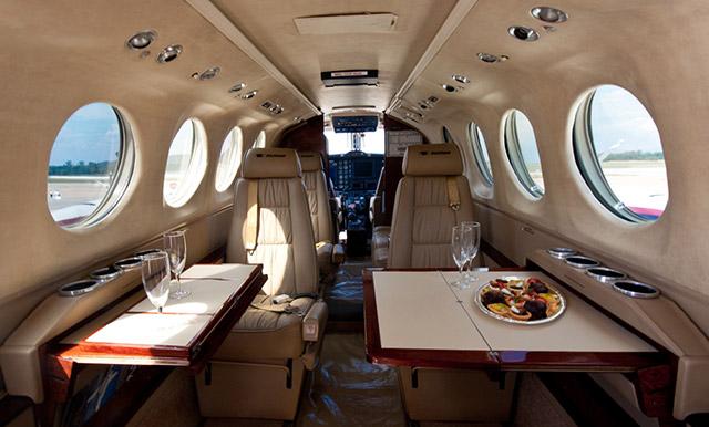 King Air 200 Interior