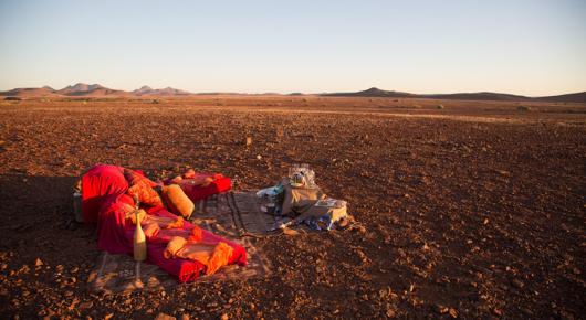 Sundowners in Damaraland