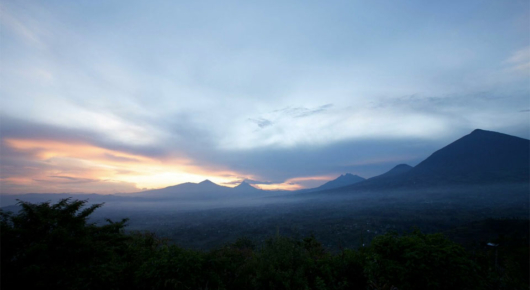 Rwanda is home to exceptionally beautiful mountain ranges and forests