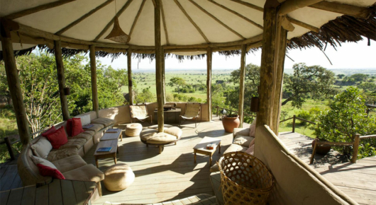 An oasis of calm in the Serengeti