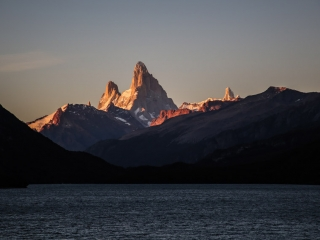 Mont Fitzroy at dawn