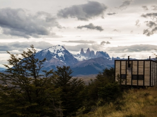 Torres del Paine from the extraordinary Awasi Patagonia