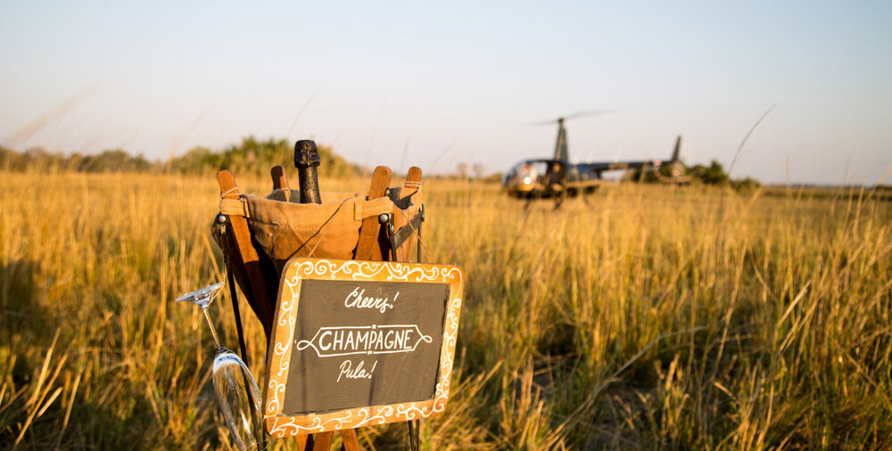 getting-to-sundowners-by-helicopter