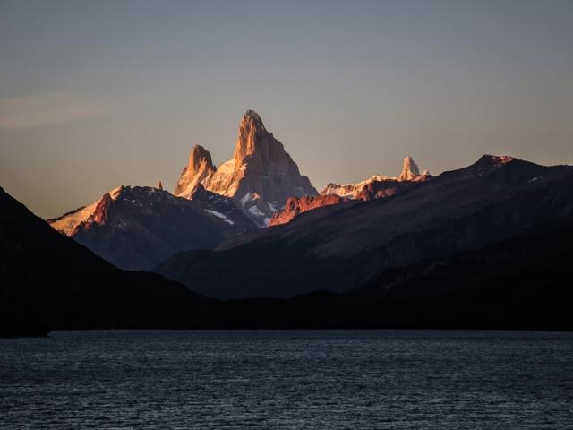 Monte Fitz Roy at sunrise - Argentina