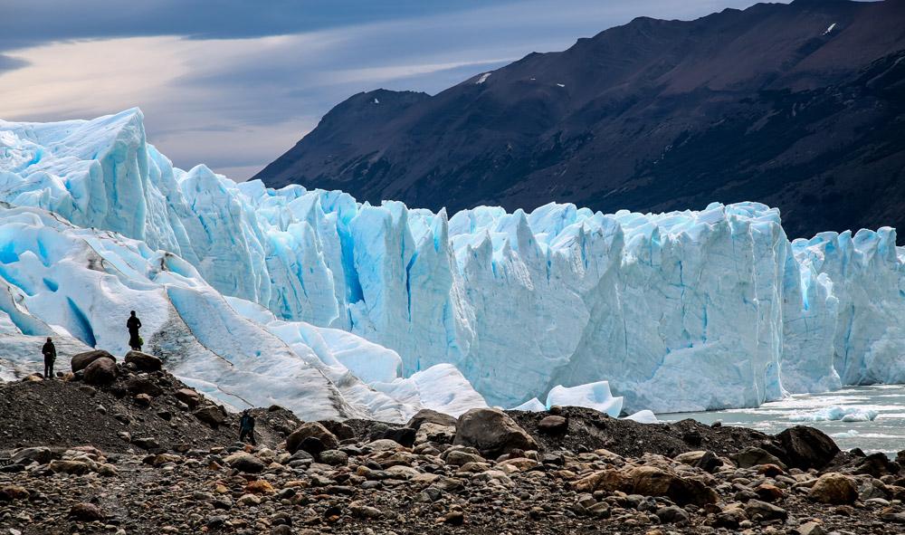 The iconic Perito Moreno glacier in Argentina