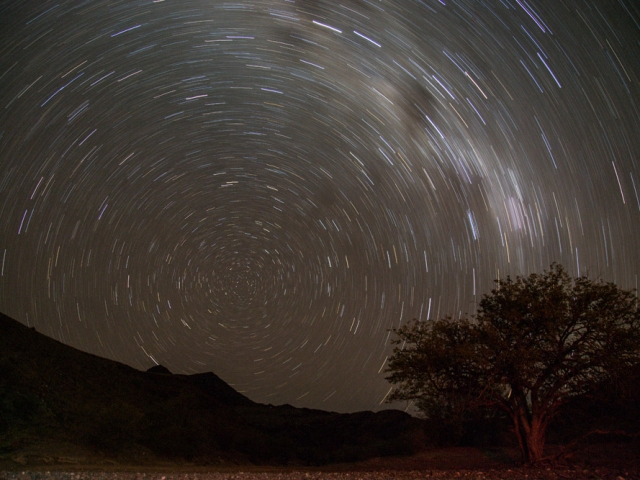 The night skies of Namibia