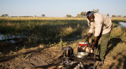 The best breakfast in Botswana!