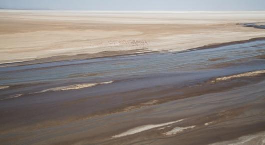 The colours of Lake Eyasi