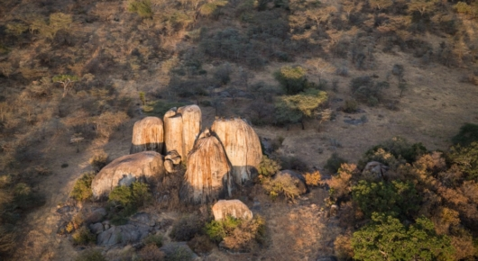 The stunning kopjes of Maswa Game Reserve