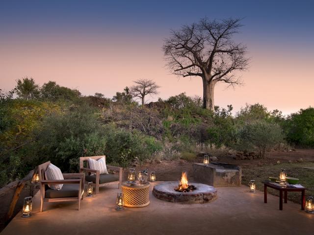Baobab Hills and tree - Pafuri