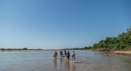 River walking - Pafuri