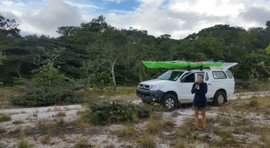 Sandra and the Hilux, Lake Tanganyika